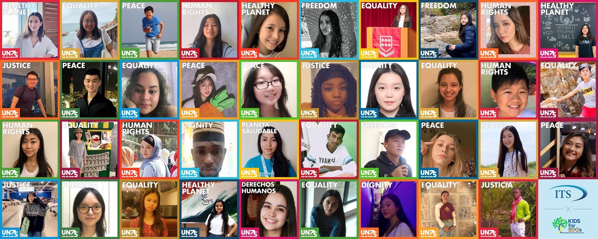 UN75 students